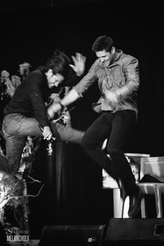 Jared Padalecki and Jensen Ackles, Salute to Supernatural Vancouver 2015Photography by Stardust and Melancholy