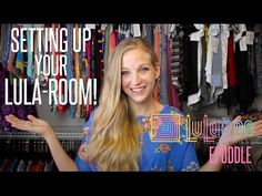 Our LuLaRoom & Office setup and TOUR - Before & After + tips for your LuLa-Room | LuLaRoe Epoddle - YouTube