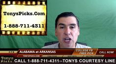 Alabama Crimson Tide vs. Arkansas St Razorbacks Pick Prediction College ...