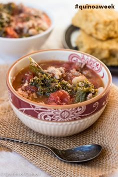 Sausage & Quinoa Stew (with a giveaway)