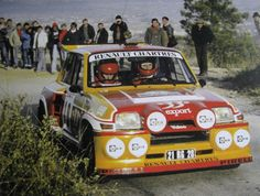 Renault 5 Turbo 2 rally car - Group B