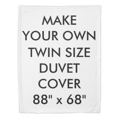 "#createyourown #customize - #Custom Personalized King Size Duvet Cover 68"" W."