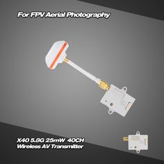 FX718-6 5.8G 600mW 32CH Mini Wireless AV Transmitter for FPV Aerial Photography