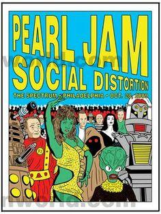 Pearl Jam & Social Distortion