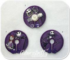 Nightmare Before Christmas G tube Covers Gtube Pads NBC Jack Skellington by AdorabellyDesign on Etsy