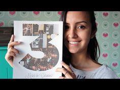 Como fazer uma montagem de fotos com número | Namorada Criativa - Por Chaiene Morais