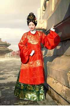Ming dynasty's noblewoman by williswong.deviantart.com on @deviantART