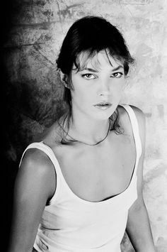 Jane Mallory Birkin (1946) - English actress and singer who lives in France. She is perhaps best known for her relationship with Serge Gainsbourg in the 1970s. Photo by Tony Frank