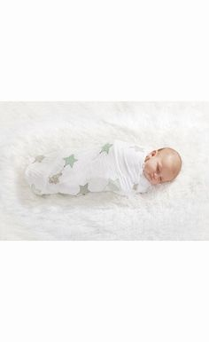Aden & Anais Up, Up, and Away Classic Swaddle Blankets, 4 pk Set $48.95