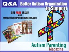 """QA Organization To Support #autismspeaks #autism - Someone asked me, """"If the Autism Speaks Organization isn't something you support then what organizations or schools do you support?"""""""
