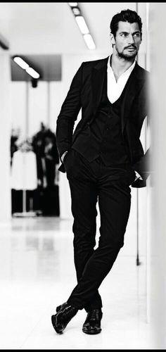 David Gandy August Man 2014