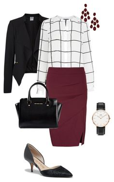 Teacher Looks - Parent Teacher Conference by sonyastyle on Polyvore featuring polyvore, fashion, style, Warehouse, Vero Moda, Lipsy, Sole Society, MICHAEL Michael Kors, Daniel Wellington, Blu Bijoux and clothing