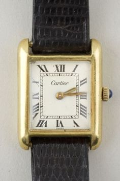 CARTIER, CARTIER OFF. Collectors of antique gold jewelry know that vintage Cartier jewelry and watches are highly desirable. Vintage Cartier Watch, Cartier Men, Cartier Jewelry, Antique Jewelry, Jewelery, Tank Watch, Antique Watches, Autumn Inspiration, Fashion Jewelry