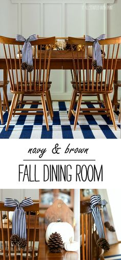 Fall in The Dining Room - It All Started With Paint