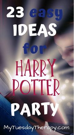 Easy and Inexpensive Harry Potter Party Decorations, Games, Invitations etc. Host a fabulous Harry Potter Birthday Party at Hogwarts. Enjoy magical harry potter food that is easy to make and does not require a wand and magical skills.