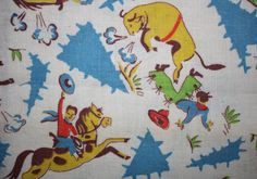 Hey, I found this really awesome Etsy listing at https://www.etsy.com/listing/263479741/vintage-fabric-cotton-feedsack-novelty