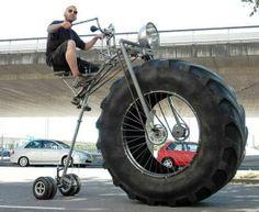 Big Wheel For Adults #fatbike #bicycle