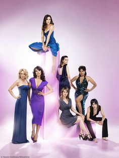 The L Word on Showtime... totally one of my guilty pleasures!!!