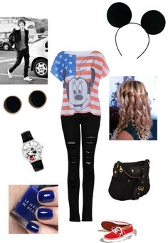 """w/ Harry at Disneyland"" by asm1298 on Polyvore"