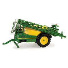 Complete with authentic John Deere graphics, positioning boom arms, and die-cast and plastic construction. Hitches to most 1/32 tractors.