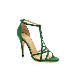 Charlotte Olympia Leaf Gren Marianne ($440) found on Polyvore