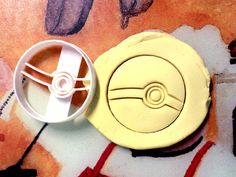 Pokemon Pokeball Cookie Cutter great for cutting Bread, Cheese, Soft fruit and more on Etsy, $8.99