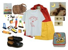 """""""."""" by lollymuller ❤ liked on Polyvore featuring Dr. Martens, Karen Walker and Marni"""