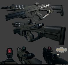 Assault Rifle by Polytec.