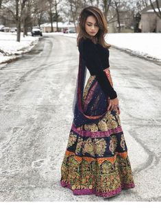 Image may contain: one or more people people standing and outdoor Pakistani Dress Design, Pakistani Outfits, Indian Outfits, Indian Attire, Indian Wear, Saris, Desi Clothes, Indian Clothes, Indian Designer Outfits