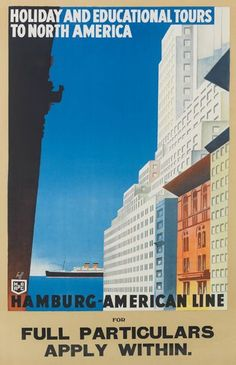 Hamburg-Amerika Linie ~ Albert Fuss