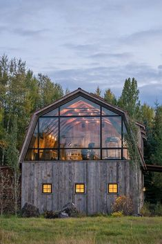 Must See Barn Homes!  Nowadays it becomes more and more trendy to restore old barn house to a normal family house. It's a great idea for history and architecture lovers even for nature lovers, because old barn houses usually were built outside of the cities surrounded by beautiful nature. #Barnhouse #Barn #Barnhome