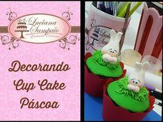 DECORANDO CUP CAKE PARA PÁSCOA