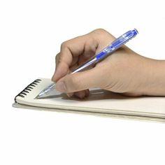 10 x Rotring STAR GELS Click Gel Ballpoint Pens PASTEL BLUE Fine