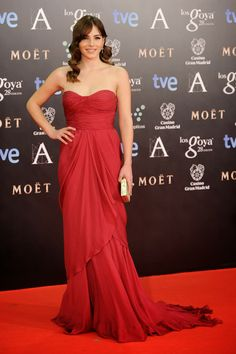 Andrea Duro in Alberta Ferretti - Goya Awards Red Carpet 2014