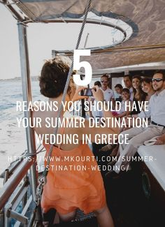 Reasons why  Greece is  the best destination for Summer Weddings. Santorini, Mykonos, Rhodes, Sifnos, Corfu, Crete, and Naxos are just but some of the most popular islands in Greece. All of which are home to stunning private beaches and boutique hotels that can be used as reception venues for your summer wedding. Greece, as a country, it's picture-perfect. The fantastic backdrops will ensure the capture of fascinating wedding photographs. Summer Wedding Destinations, Greece Destinations, Summer Weddings, Honeymoon Destinations, Amazing Destinations, Corfu, Crete, Plan Your Wedding, Wedding Tips
