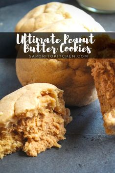 JUMBO bakery style soft, chewy peanut butter cookies are stuffed with EXTRA peanut butter. Soft Peanut Butter Cookies, Peanut Butter Filling, Cupcake Recipes, Cookie Recipes, Dessert Recipes, Desserts, Baking Recipes, Cake Mix Cookies, Cookies Et Biscuits