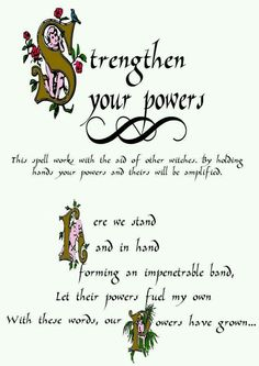 Strenthen Powers