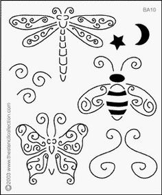 Use a stencil to get started on a tangle page then spread your wings and experience the Zen
