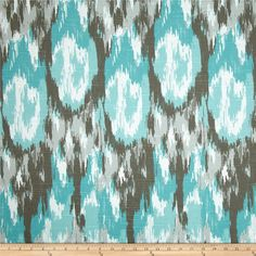 This might look nice on the dining room chairs.  Premier Prints Ikat Craze Slub Spirit from @fabricdotcom