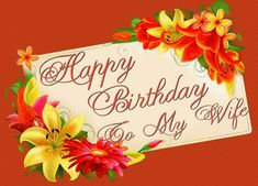 Happy Birthday Wife quotes, messages, wishes, images, pictures