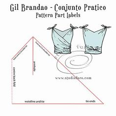 More #Vintage simplicity! #PatternPuzzle - Gil Brandao Conjunto Pratico #FaroVintage