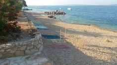 Strand in Mandre - Insel Pag