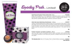 Awesome new Perfectly Posh Halloween Collection! www.perfectlyposh.us/dar