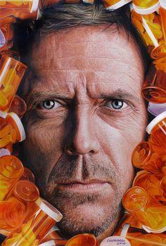 Hugh Laurie as House