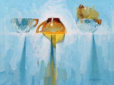 Poltergeist by David Cheifetz Oil ~ 9 x 12