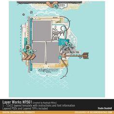Layer Works No. 561- Studio Double-D Templates- LT344011- DesignerDigitals