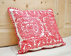 Vintage Kalotaszeg Hand Embroidered Pillow Cover / by Medreana