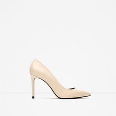 Image 1 of LEATHER COURT SHOES from Zara