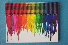 Share Tweet + 1 Mail Sawyer and I have been seeing a ton of cool melted crayon art on Pinterest lately, and we knew ...