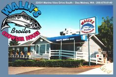 Wally's Chowder House Broiler Resturant - best halibut fish and chips